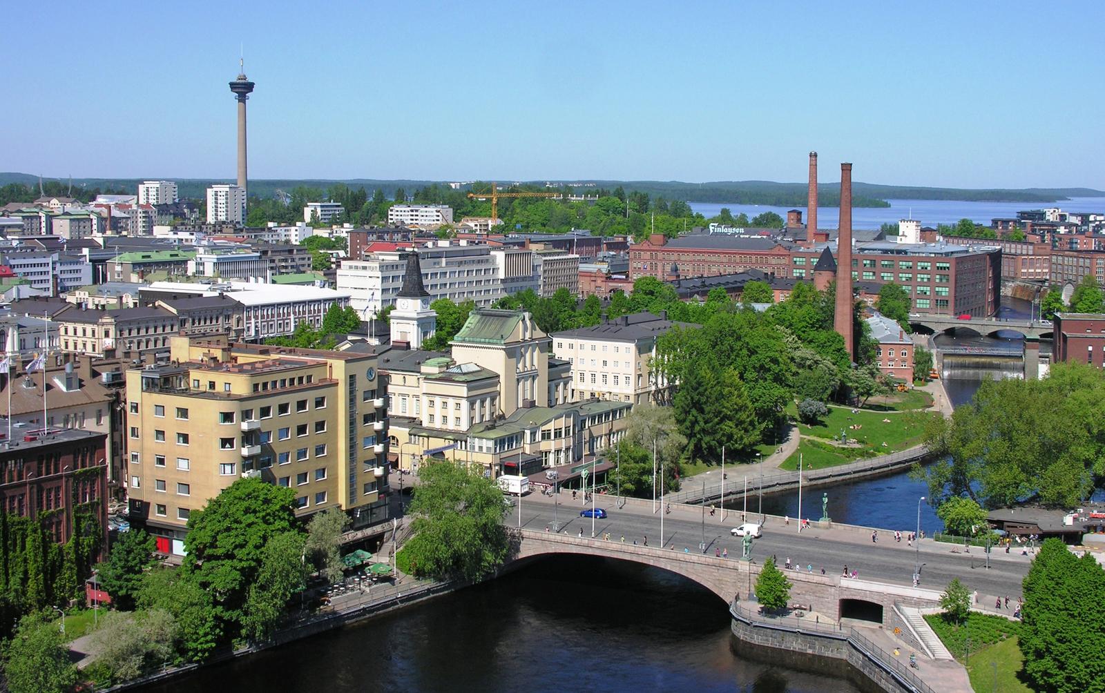 北欧城市简笔画