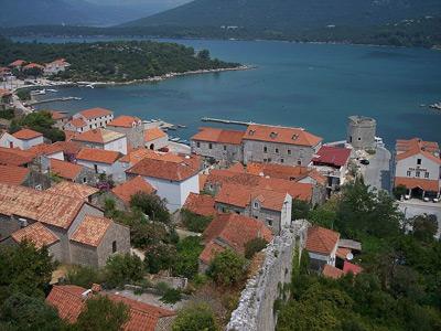 布罗夫尼克-内雷特瓦县的克罗埃西亚 ,位於南部的地峡的佩列沙茨半岛.