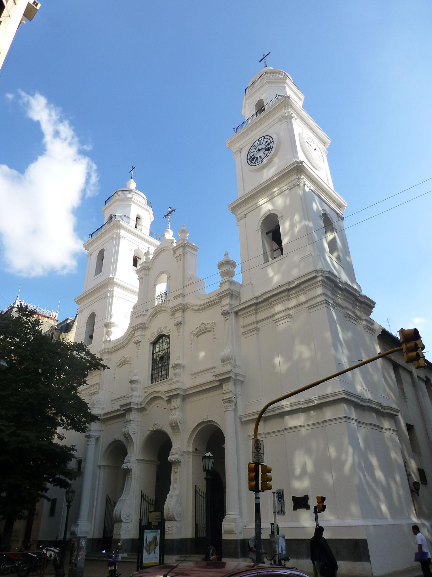 耶稣会教堂立面手绘